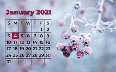 Winter Trimester 2021 Begins Soon